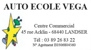 Logo Auto Ecole Vega